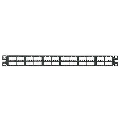 Panduit patch panel CPP48HDWBLY neosazený 1U pro 48 modulů MiniCom