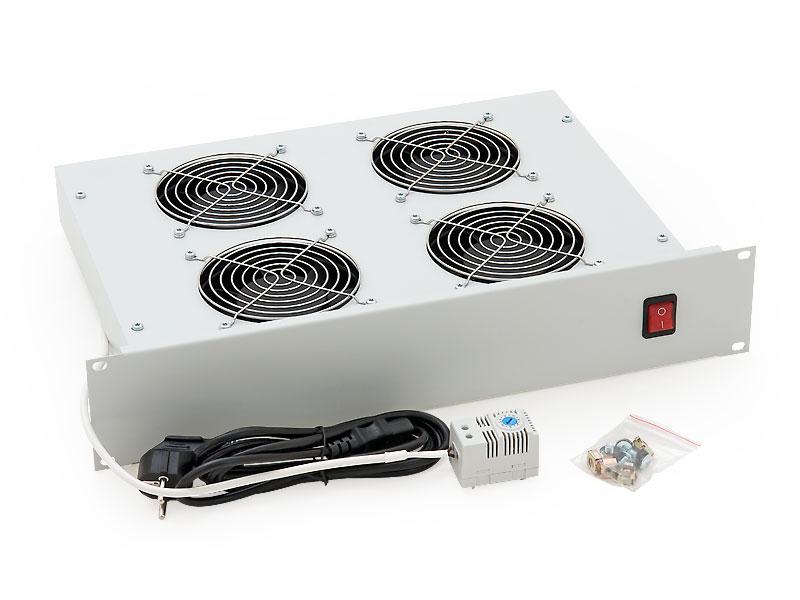 """RAB-CH-X02-A1 - 19"""" horizontální ventilační jednotka Triton, 4 ventilátory"""