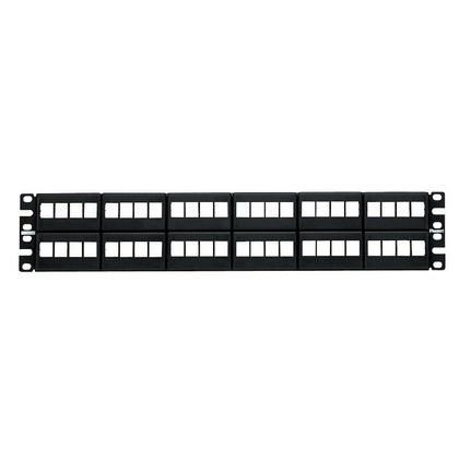 Panduit patch panel NKFP48Y neosazený pro 48 modulů NetKey