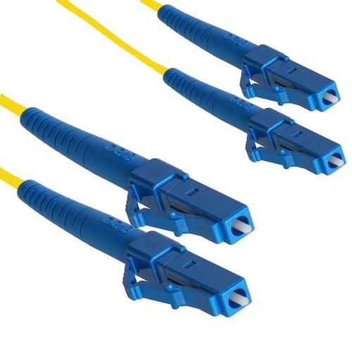 Optický patch kabel LC-LC 9/125 OS2, 1m
