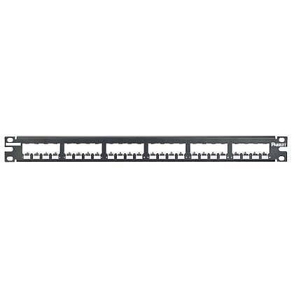 Panduit patch panel CP24BLY neosazený 1U pro 24 modulu MiniCom