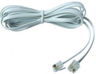 Propojovací kabel s konektory RJ11 6p4c 1m