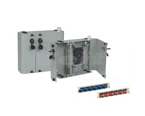 Optická skříňka pro 24SC/LC spojek
