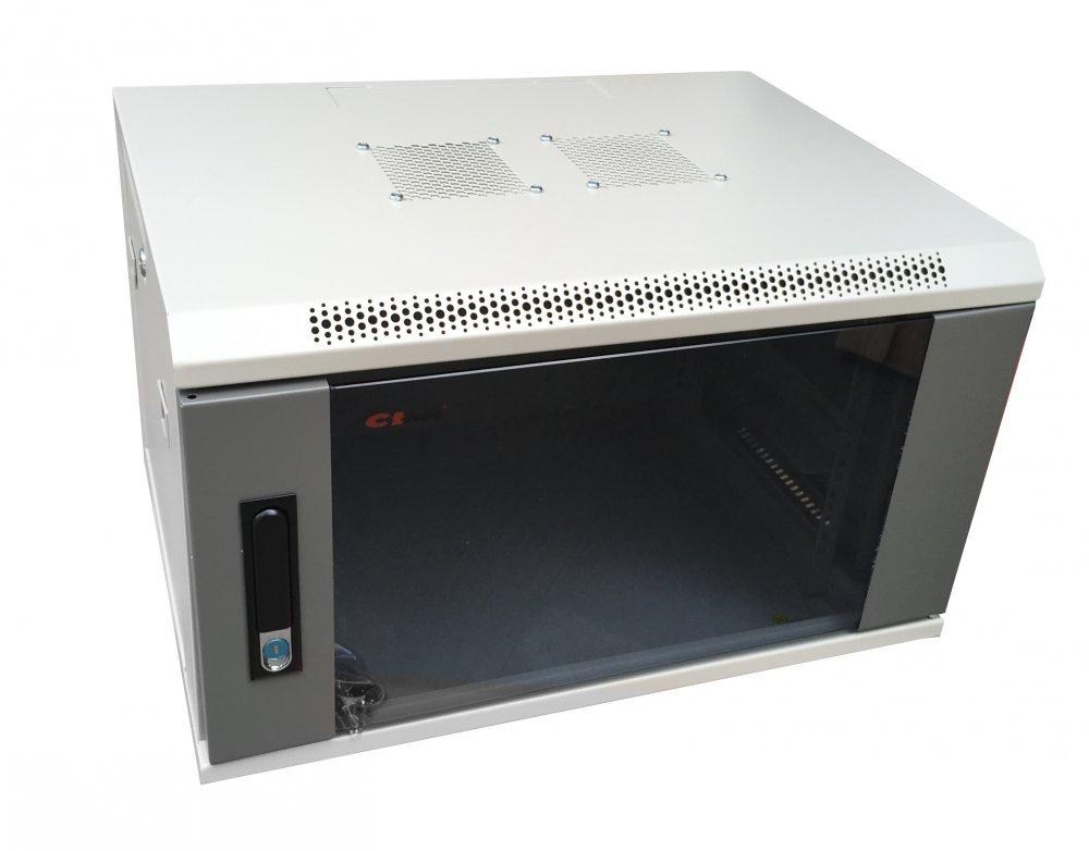 """CTnet 19"""" rozvaděč 12U 600mm"""