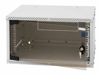 """RXA-06-AS4 - 19"""" nástěnný rozebiratelný rozvaděč Triton 6U hl.400mm"""