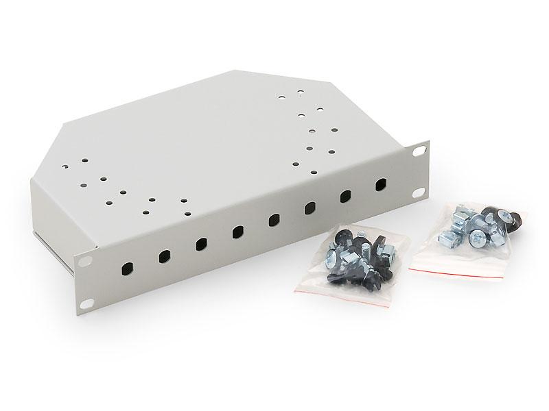 """RAB-FO-X01-C1 - Triton 10"""" optická vana 1U, 8 ST konektorů"""