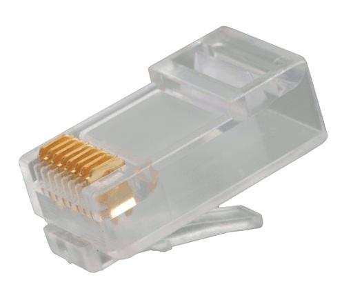 Konektor RJ45 8P8C cat.6 FTP drát 50u