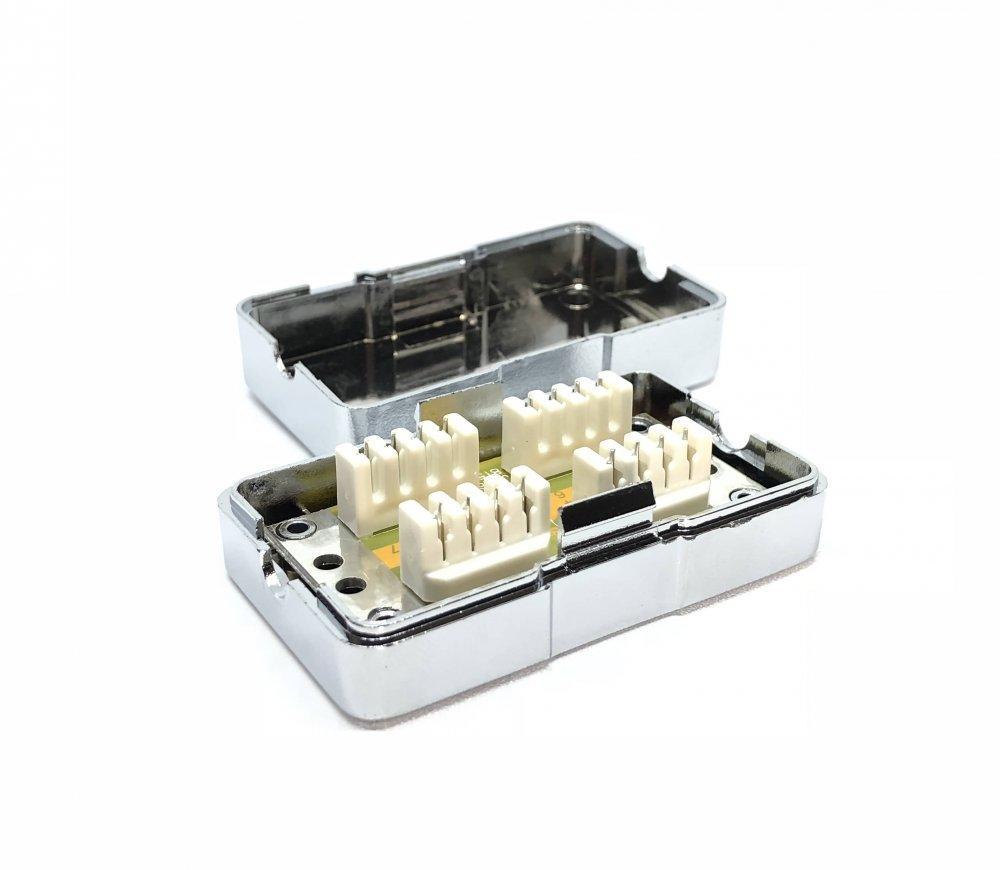 Spojovací box cat.6 FTP zářez / zážez
