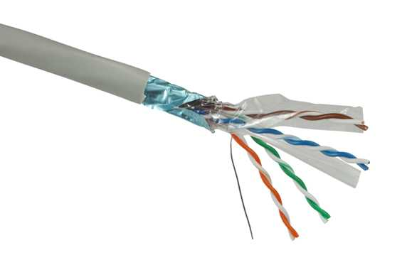 Linkbasic kabel FTP drát cat.6 - PVC