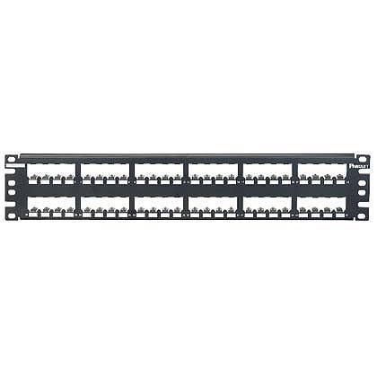 Panduit patch panel CP48BLY neosazený 1U pro 48 modulu MiniCom