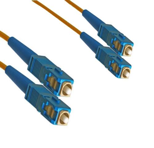 Optický patch kabel SC-SC 9/125 OS2, 1m