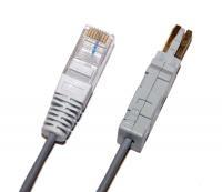 Patch kabel telefonní RJ45/IDC 1pár, 1m