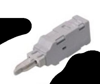 Měřící konektor krone dvoupólový